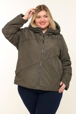 Женская куртка весенне-осенняя 211-13 Хаки