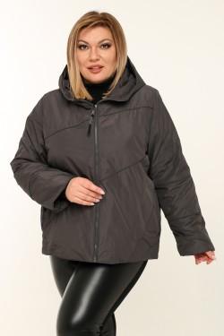 Женская куртка весенне-осенняя 211-13 Серый