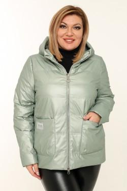 Женская куртка весенне-осенняя 20118 Фисташка
