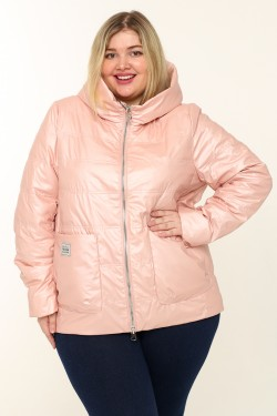 Женская куртка весенне-осенняя 20118 Пудра