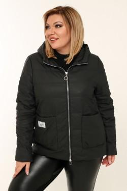 Женская куртка весенне-осенняя 20118 Черный