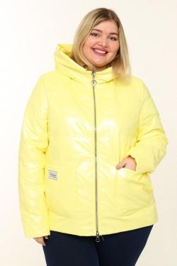 Женская куртка весенне-осенняя 20118 Желтый