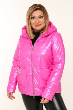 Женская куртка весенне-осенняя 20118 Фуксия