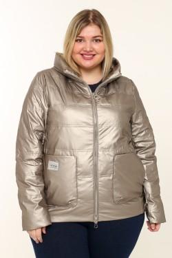 Женская куртка весенне-осенняя 20118 Бронза