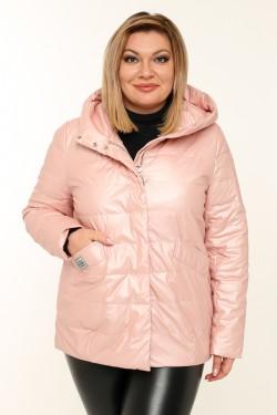 Женская куртка весенне-осенняя 20291 Пудра