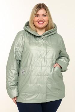 Женская куртка весенне-осенняя 20291 Фисташка