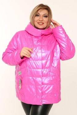 Женская куртка весенне-осенняя 20291 Фуксия