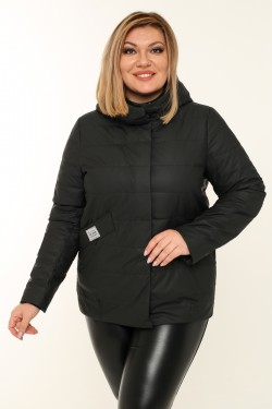 Женская куртка весенне-осенняя 20291 Черный