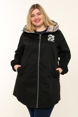 Женская куртка весенне-осенняя 7531 Черный