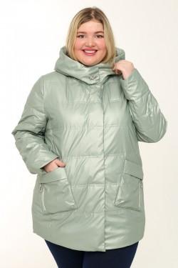 Женская куртка весенне-осенняя 21061 Ментоловый