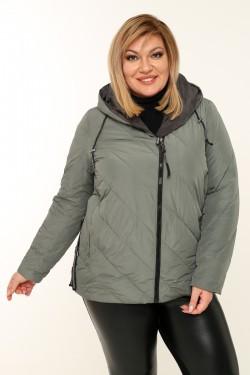 Женская куртка весенне-осенняя 211-131 Фисташковый