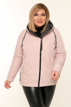 Женская куртка весенне-осенняя 211-131 Пудра