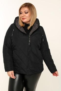 Женская куртка весенне-осенняя 211-131 Черный