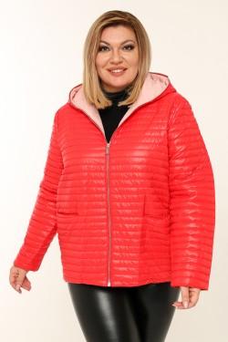 Женская куртка весенне-осенняя 18819 Красный