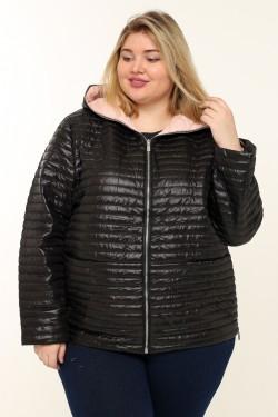 Женская куртка весенне-осенняя 18819 Черный