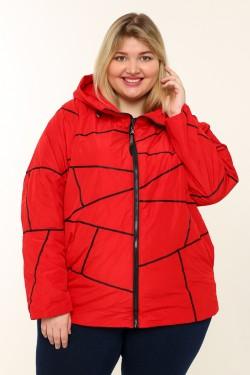 Женская куртка весенне-осенняя 211-42 Красный