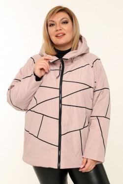 Женская куртка весенне-осенняя 211-42 Пудра