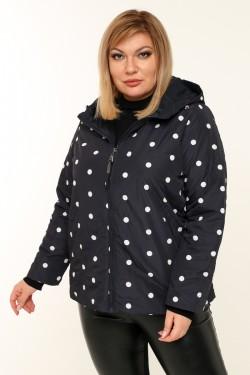 Женская  куртка весенне-осенняя 211-17 Черный