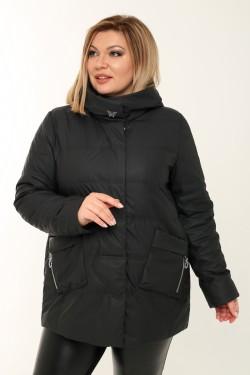 Женская куртка весенне-осенняя 21061 Черный