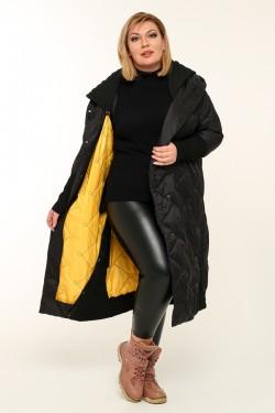 Женская куртка весенне-осенняя 4400 Черный