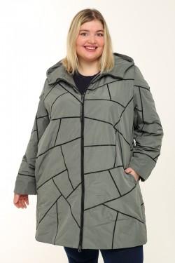 Женское пальто весенне-осенняя 211-41 Хаки