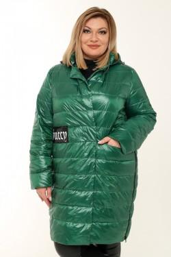Женское пальто весенне-осенняя 7751 Зеленый