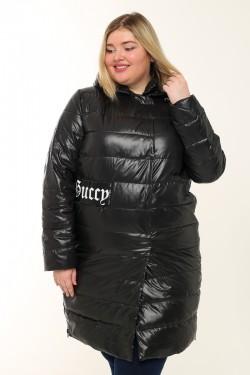 Женское пальто весенне-осенняя 7751 Черный