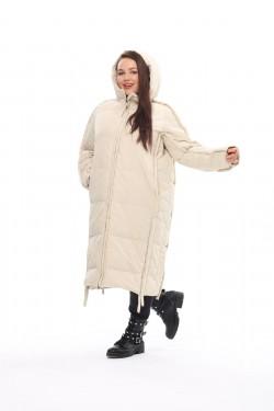 Женское пальто осень-зима 212-08 Молоко