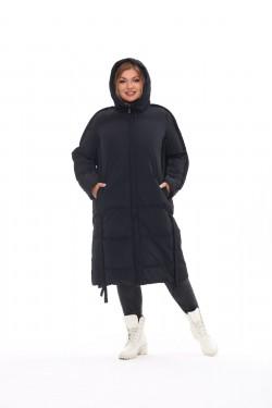 Женское пальто осень-зима 212-08 Черный