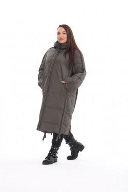 Женское пальто осень-зима 212-08 Хаки