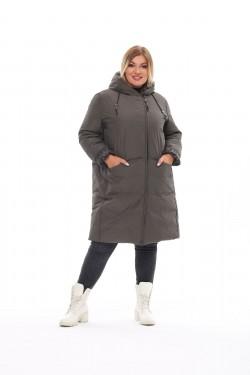 Женское пальто осень-зима 212-71 Хаки