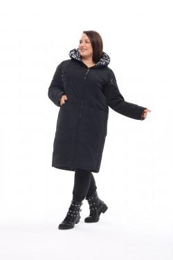Женское пальто осень-зима 212-71 Черный
