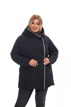 Женское пальто осень-зима 21231 Черный