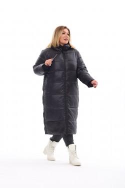 Женское пальто осень-зима 7675 Черный