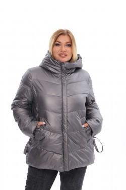 Женское пальто осень-зима 21508 Гранит