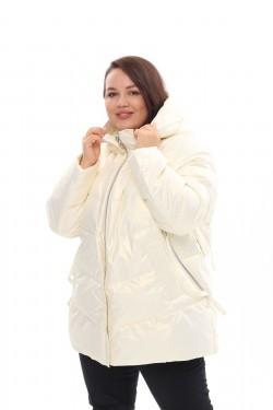 Женское пальто осень-зима 21508 Белый