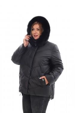 Женское пальто осень-зима 21188 Черный