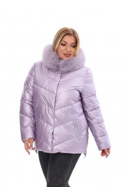 Женское пальто осень-зима 21188 Сирень