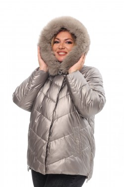 Женское пальто осень-зима 21188 Капучино