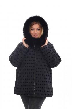 Женское пальто осень-зима 212-36 Черный