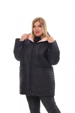 Женское пальто осень-зима 21088 Черный